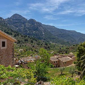 Fornalutx and the Tramuntana Moutains