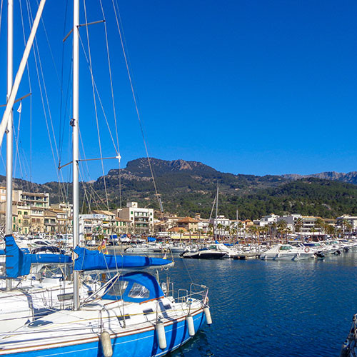 Port de Soller Mallorca Balearic islands