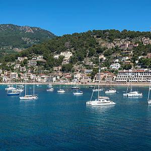 Port de Soller view