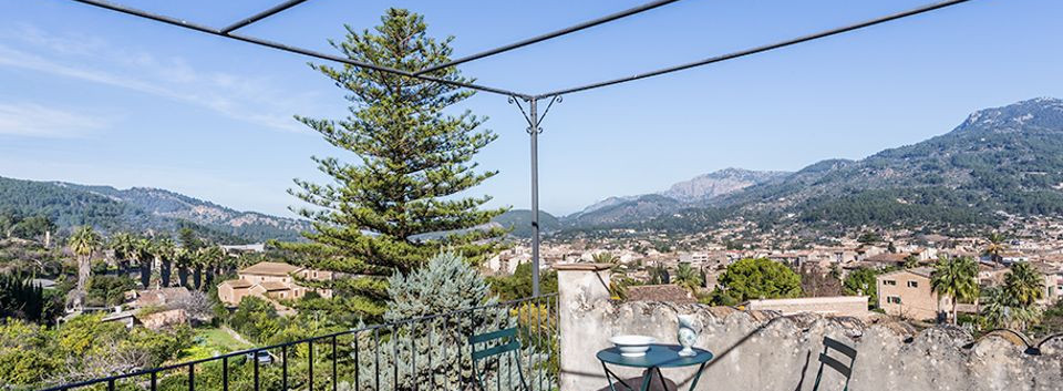 Detached Villa with Views Soller Mallorca