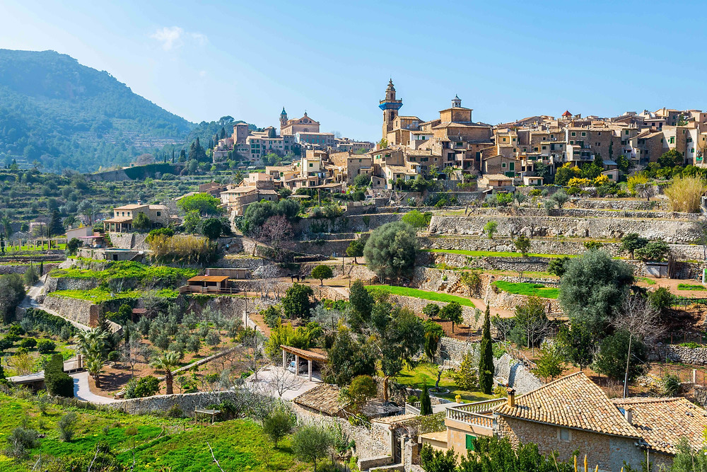 Village of Valldemossa in Mallorca