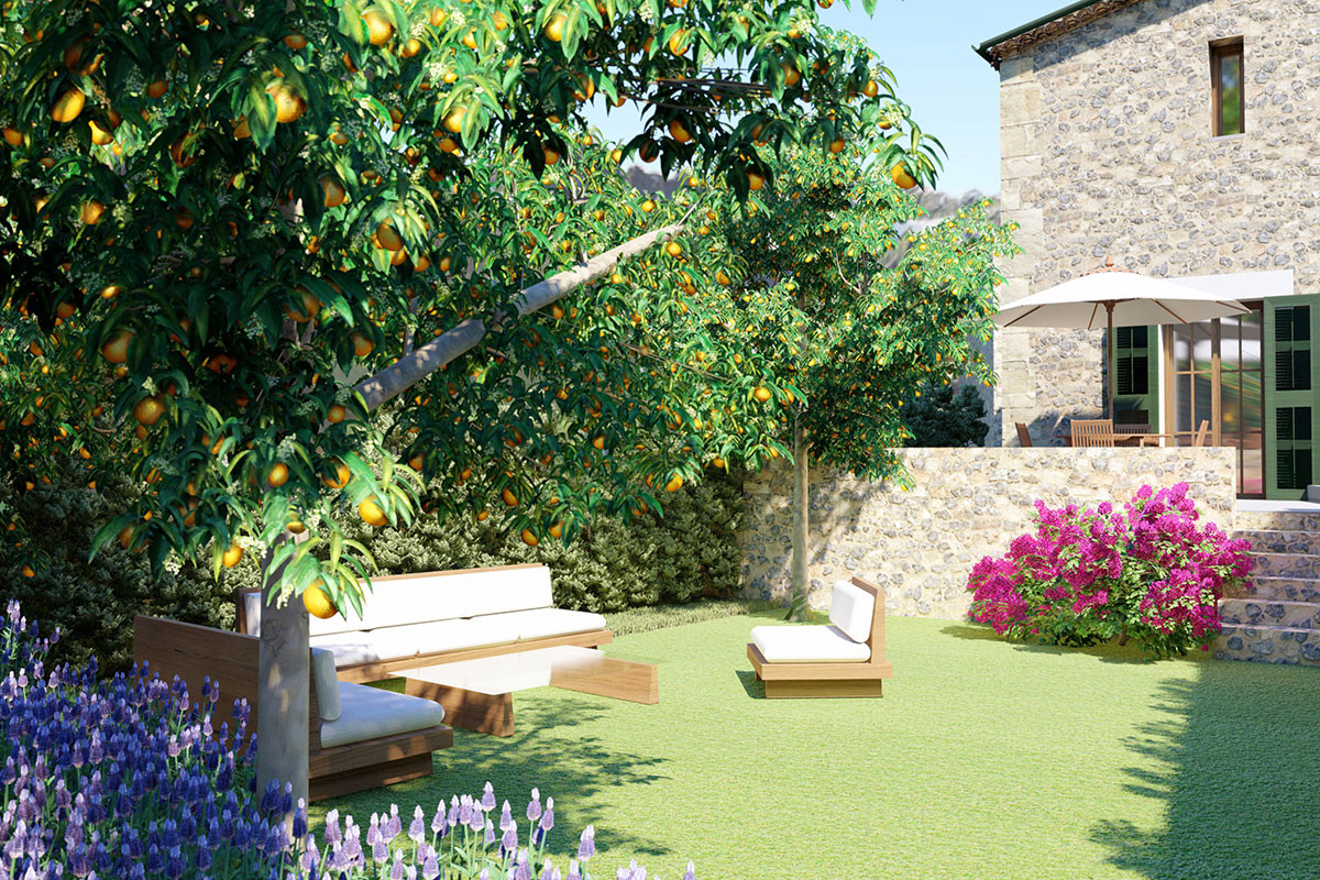 Villas with private garden in Fornalutx