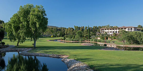 Exclusive son vida golf course near palma