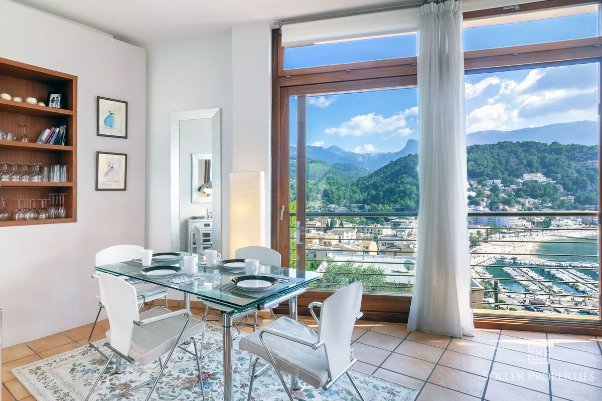 Seaview villa in port de soller for sale