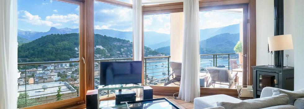 Puerto de Soller Villa with sea views