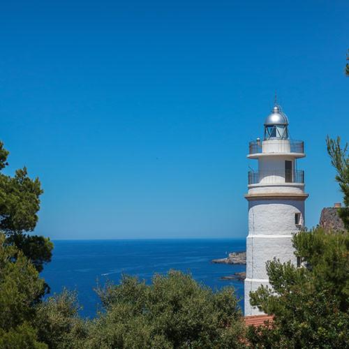 Faro de Punta de Sa Creu Port de Soller