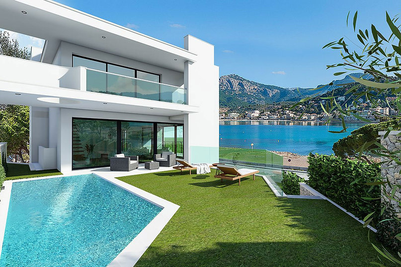 Frontline Port de Soller Villa for Sale