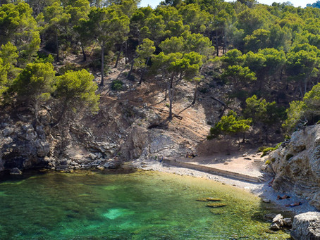 Most hidden beaches for nudists in Mallorca