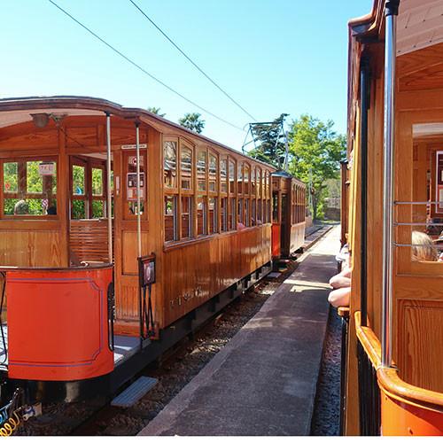 Port de Soller Vintage Tram