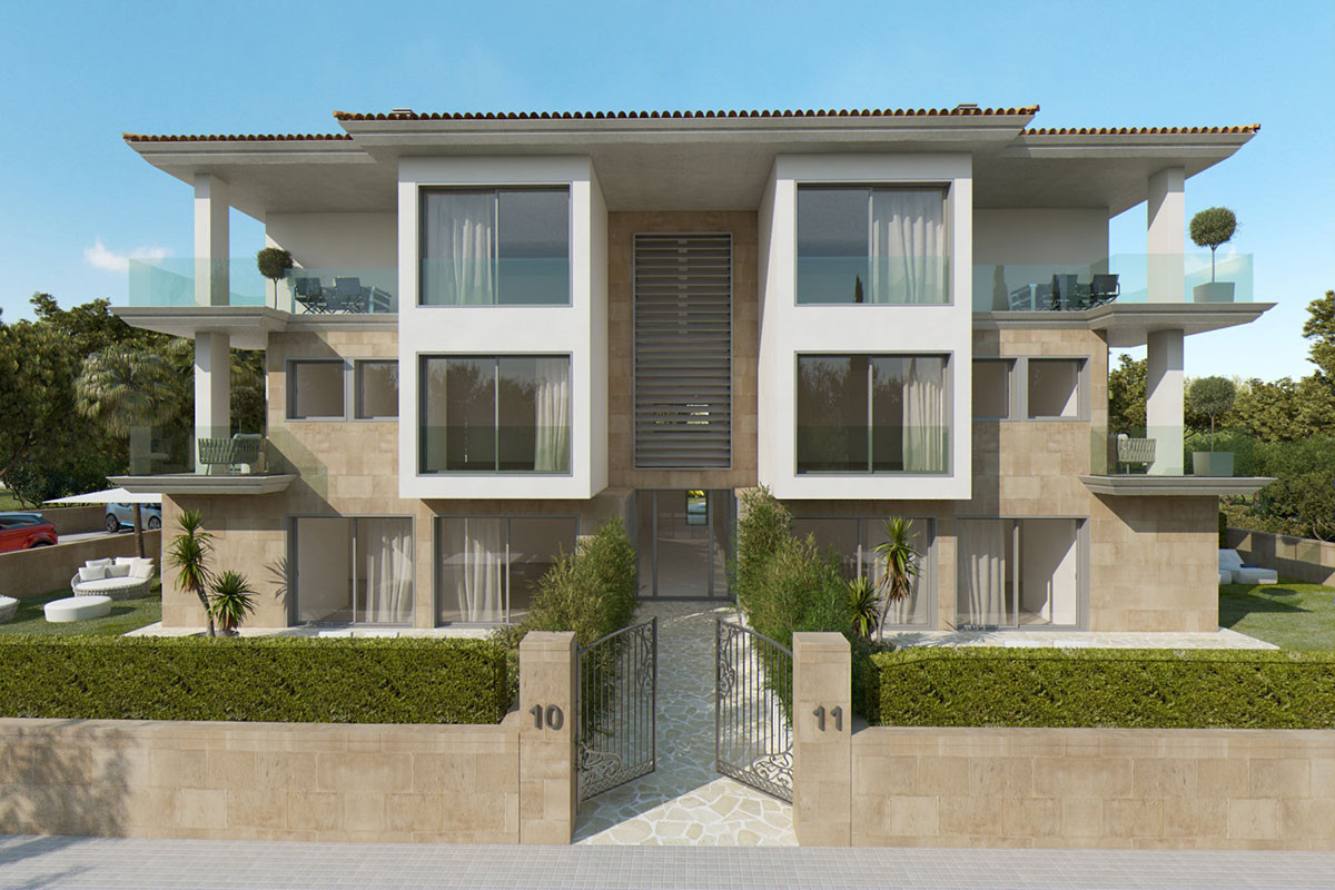 New construction of Apartments in Port de Soller