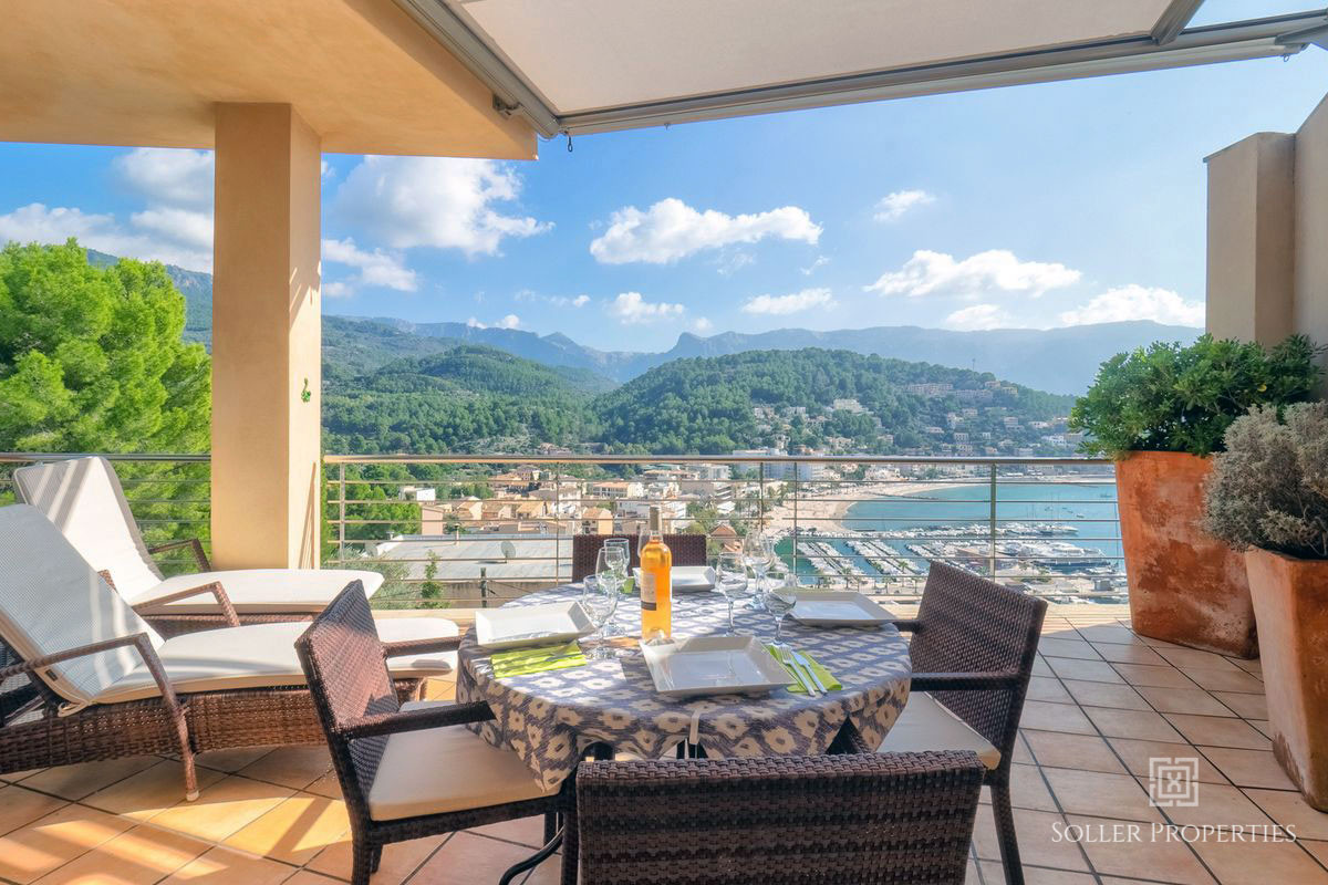 Puerto de Soller Villa with sea views