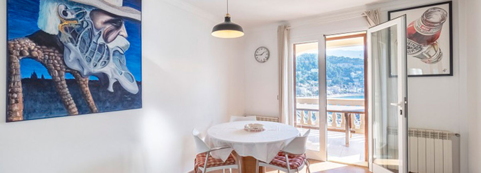 Port Soller Penthouse with sea views