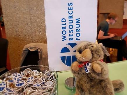 CAV+S en Suiza participando del World Resources Forum