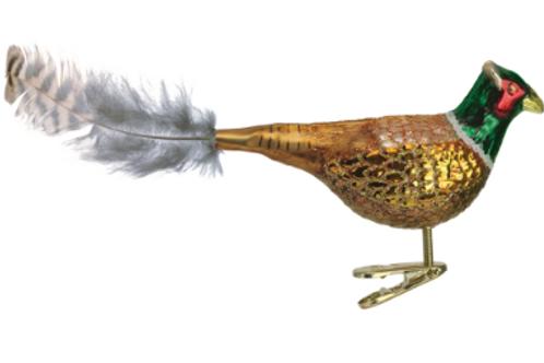 Pheasant Ornament