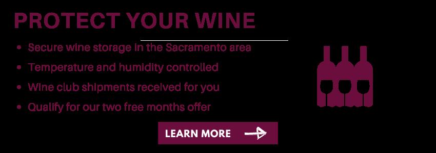 Sacramento Area Wine Storage