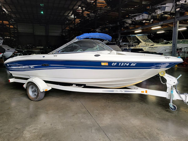 2004 Sea Ray 185 Sport with 181 hours 1.