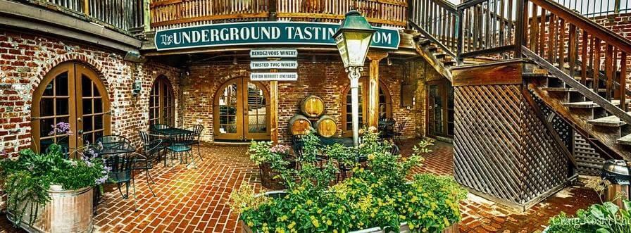Underground Tasting Room in Old Sacramento