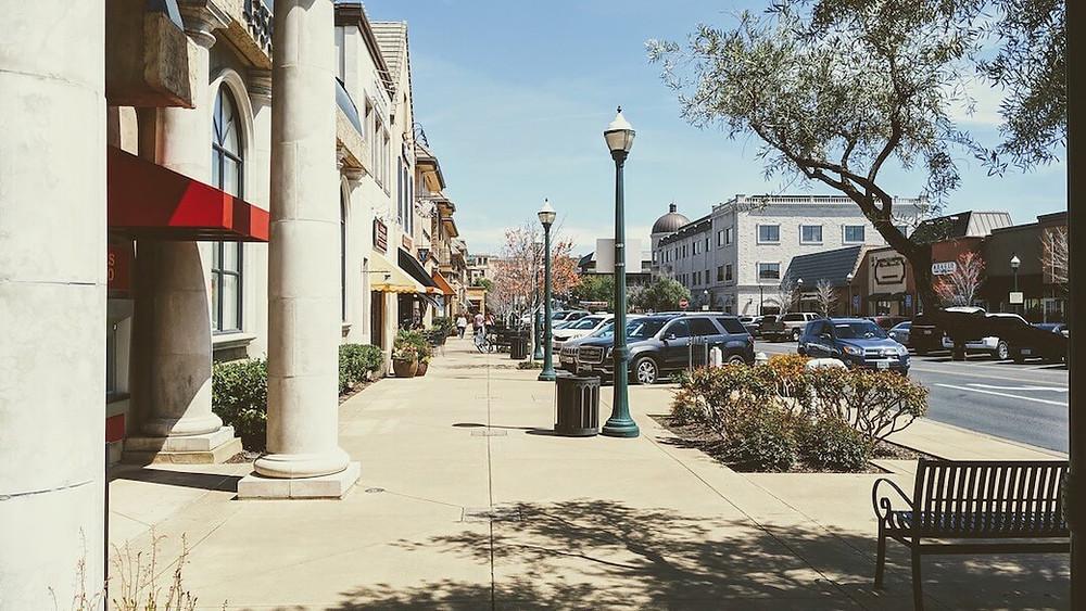 El Dorado Hills Town Center Boulevard