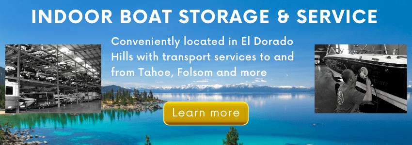 Northern California Indoor Boat Storage & Service
