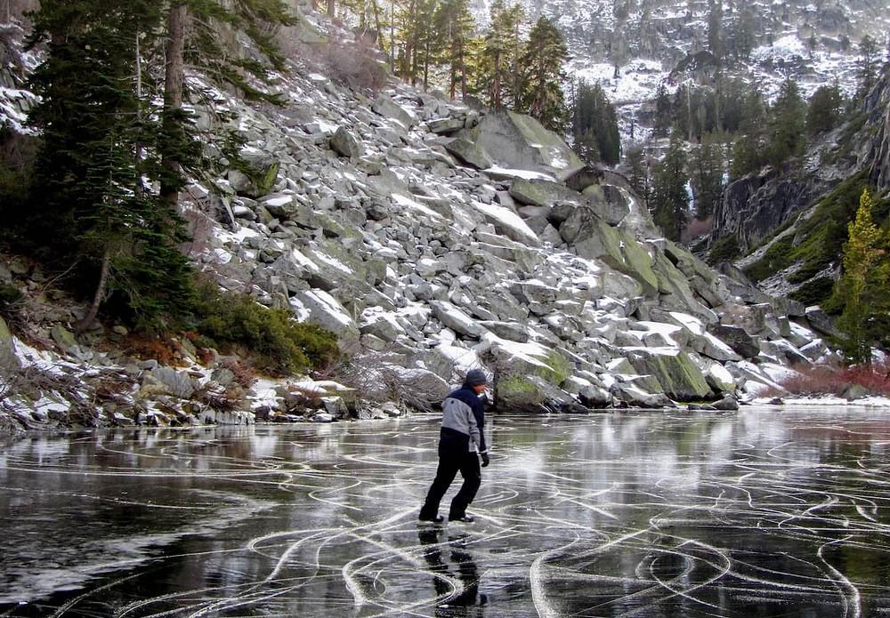 Eagle Lake Ice Skater
