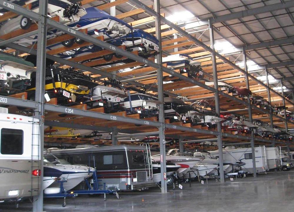 El Dorado Hills Indoor Boat Storage
