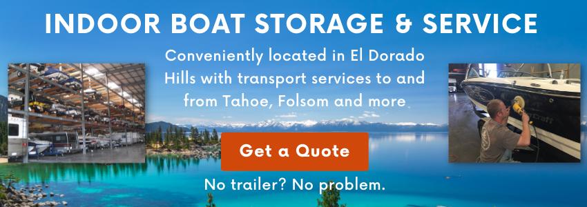 Sacramento Area Indoor Boat Storage & Service