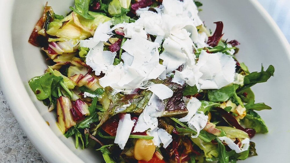Salad at EDH Town Center Restaurant