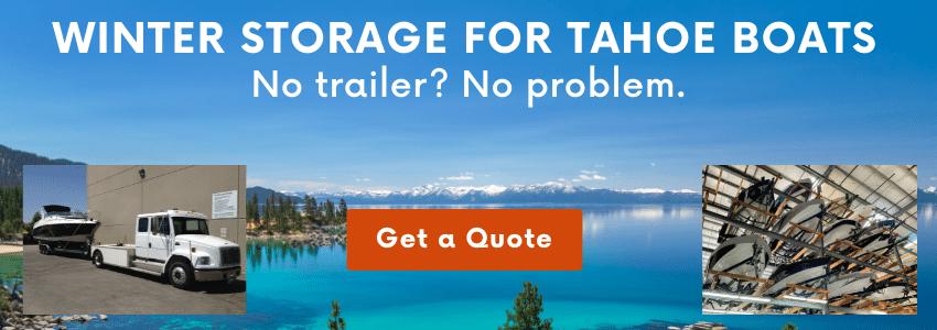 Tahoe Boat Storage