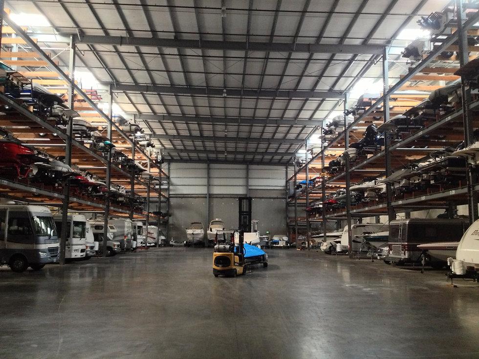 Indoor Boat & RV Storage