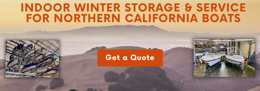 Winter Storage for Northern California Boats