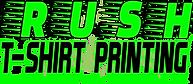Rush Tshirt Printing Logo