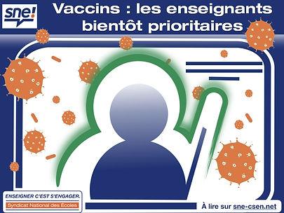 sne-csen.net 21-03-23 vaccins prioritair