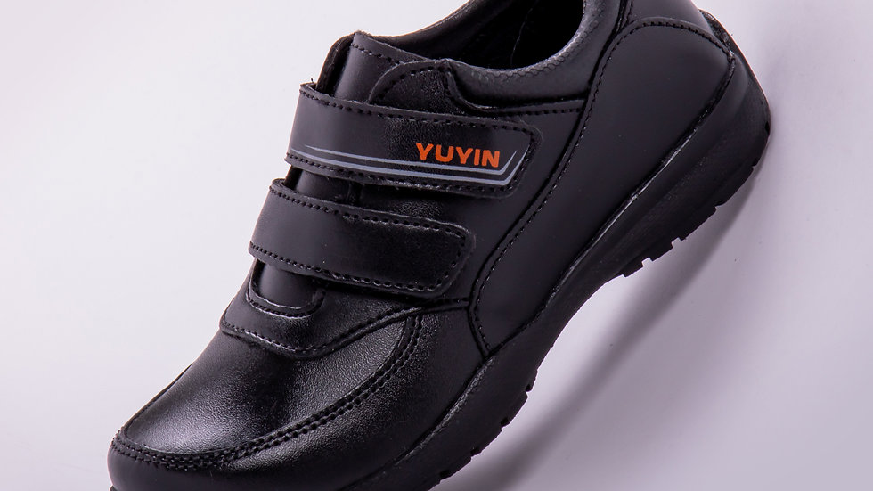 Zapato Escolar Para Niño Color Negro Modelo 29161 Talla: 18-21.5