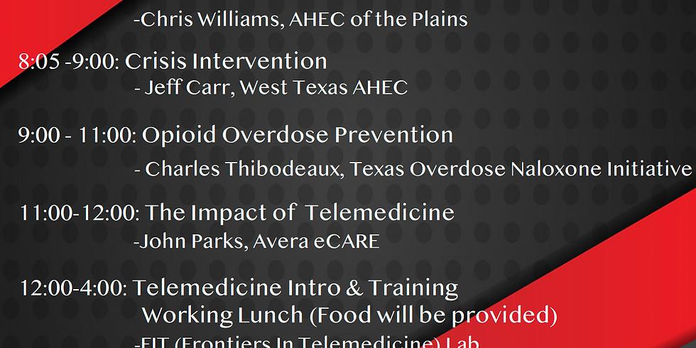 Opioid Abuse and Telemedicine Symposium