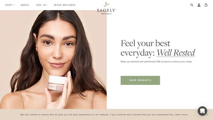 Sagely Naturals — Website design & art direction