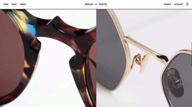 Bold Dots — Website design & art direction