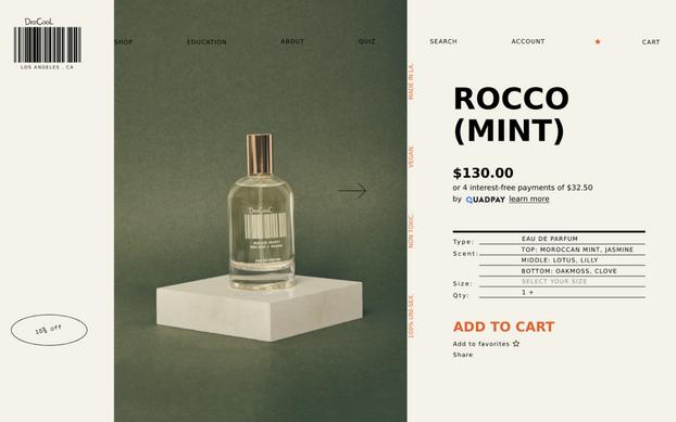DedCool — Website design & art direction