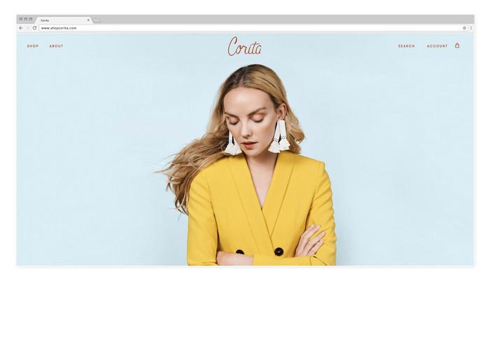 Corita — Website design
