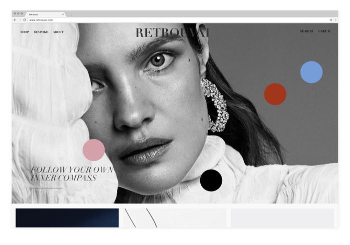 Retrovaui — Website design & photography direction