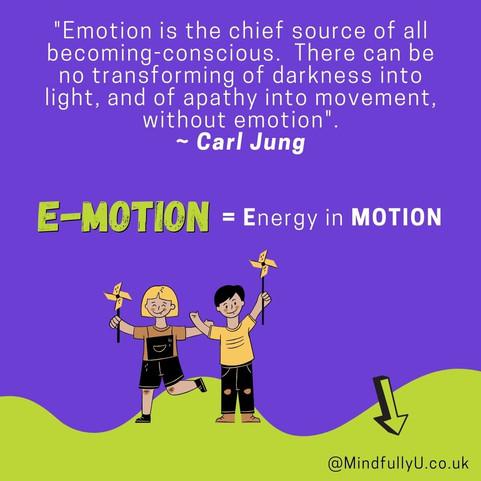E-motion = Energy in MOTION