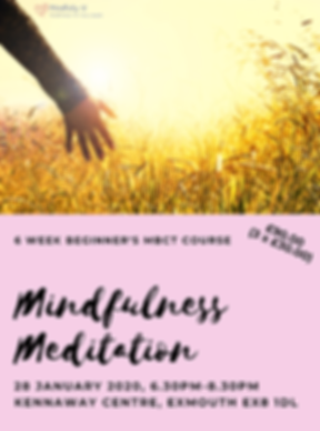 Mindfulness_Course_Jan20_Poster - SMALLE