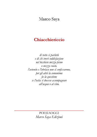 Chiacchiericcio
