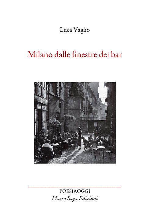 Milano dalle finestre del bar
