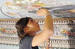 ציור על התיקרה