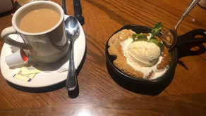 Dessert at Outback Steakhouse