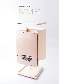 sbalay cojon SCJ1 摺疊鼓