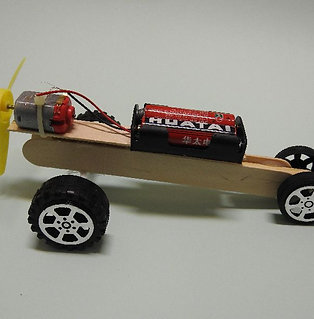 DIY MOTORISED TOY CAR KIT : D'RACER