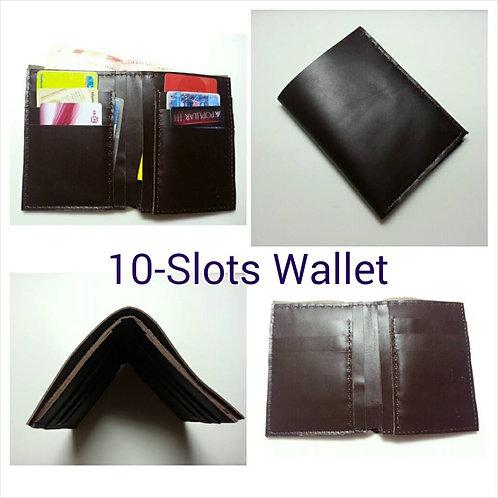 10-slots Leather Wallet Workshop
