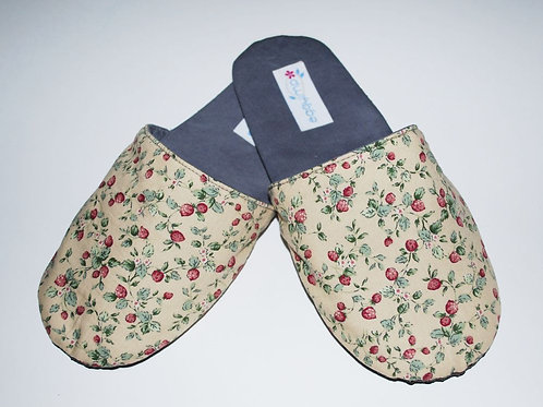 Instant Download PDF Pattern - ROSIE Adult Room Slippers PDF Sewing Pattern Tuto