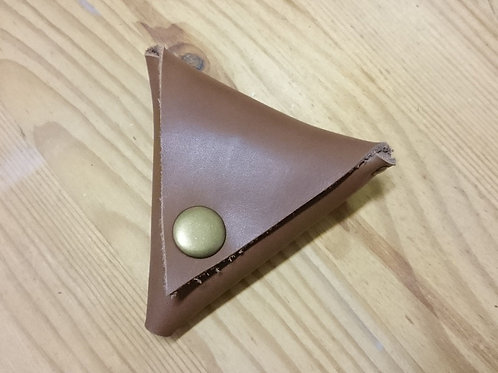 LEATHER ORIGAMI COIN POUCH WORKSHOP